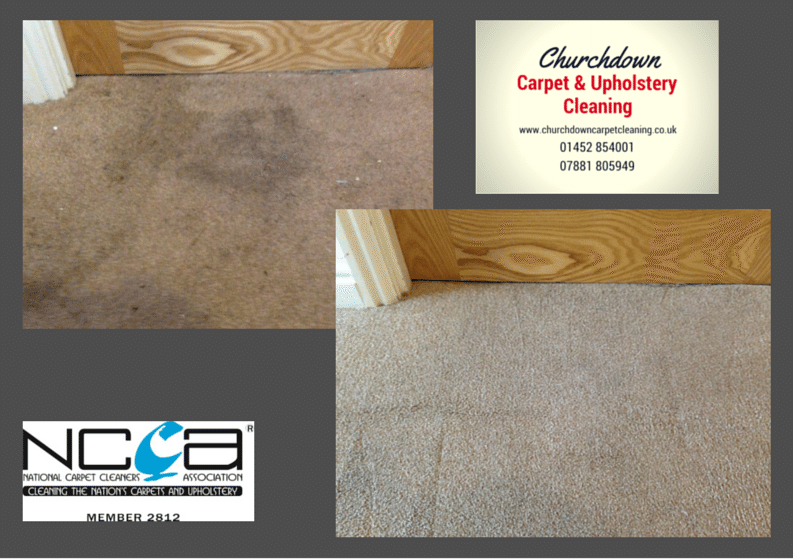 Churchdown Carpet Cleaning, recommended by The Property Centre