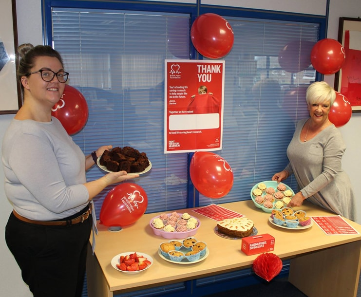 Healthy Cake Bake at The Property Centre's Head Office
