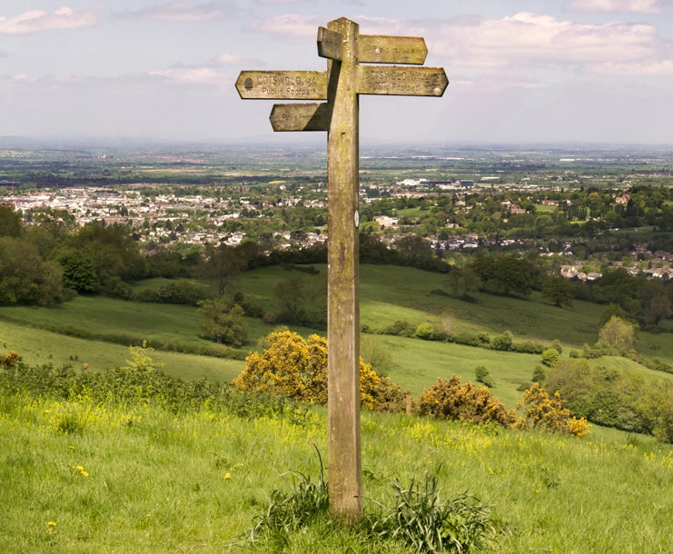 Article The Property Centre Cotswold Way Sign Post